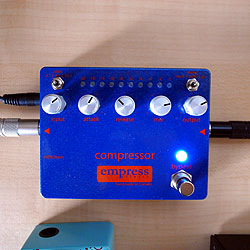 ギター用ベース用コンプレッサー・ペダル・エフェクターを比較レビュー!